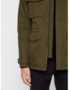 Mens Tracer Tech Jacket Forest Green