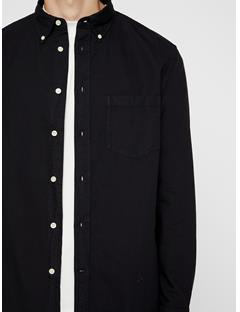 Mens David Oxford Shirt Black