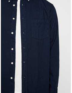 Mens David Oxford Shirt JL Navy