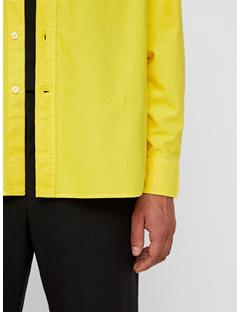 Mens David Oxford Shirt Sun Yellow