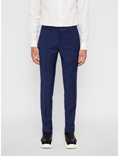Mens Paulie Comfort Wool Pants Mid Blue