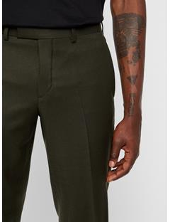 Mens Grant Flannel Pants Forest Green