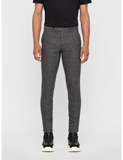 Mens Grant 2-tone Textured Pants Black