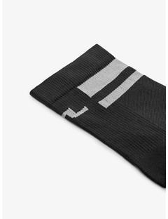 Mens Dry Yarn Golf Sock Black