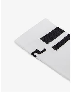 Mens Dry Yarn Golf Sock White