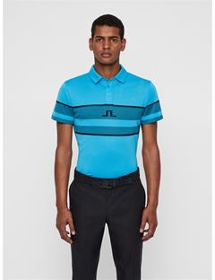 Mens Cole TX Jacquard Polo Fancy