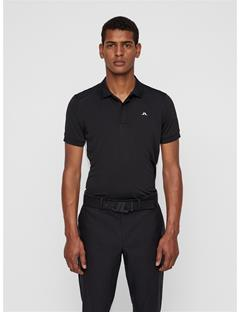 Mens Jack TX Jersey Polo Black