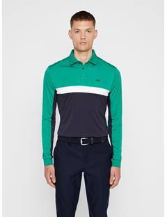 Mens Ethan TX Jersey+ Polo Golf Green