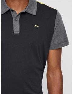 Mens Bob Cotton Poly Polo Black
