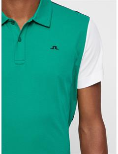 Mens Bob Cotton Poly Polo Golf Green