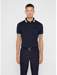 Mens Bruce Cotton Poly Polo JL Navy