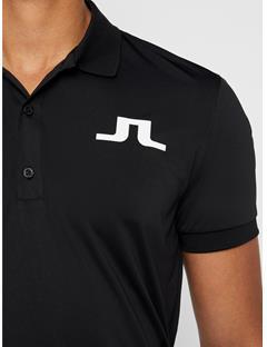 Mens Big Bridge TX Jersey Polo Black