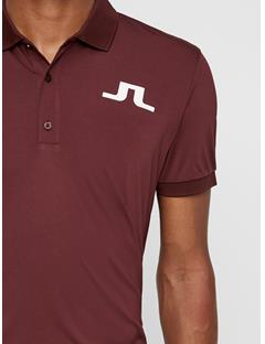 Mens Big Bridge TX Jersey Polo Dark Mocca