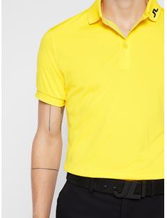 Mens Tour Tech Slim Fit Polo Banging Yellow