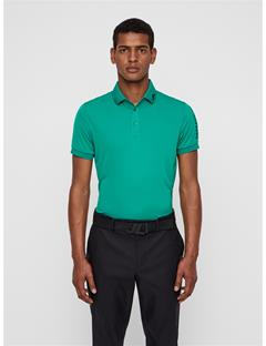 Mens Tour Tech Slim Fit Polo Golf Green