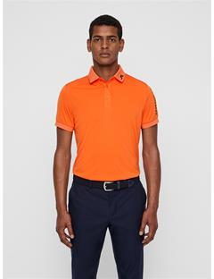 Mens Tour Tech Slim Fit Polo Juicy Orange