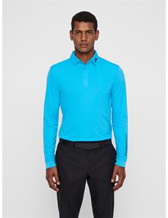 Mens Tour Tech Long Sleeve Polo Fancy