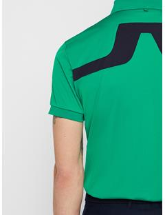 Mens KV TX Jersey Polo Golf Green