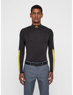 Mens Damien Compression Layer Black