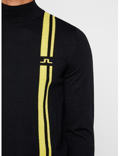 Mens Atlas Wool Coolmax Sweater Black