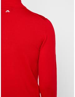 Mens Kian 2.0 Tour Merino Sweater Racing Red