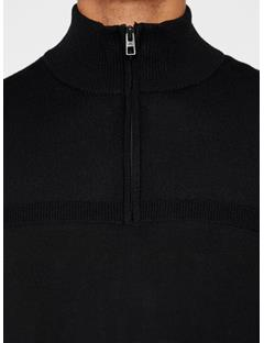 Mens Columba Virgin Wool Sweater Black