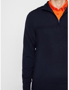 Mens Columba Virgin Wool Sweater JL Navy