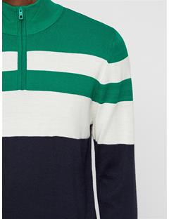 Mens Henry Wool Coolmax Sweater Golf Green