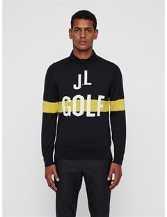 Mens Clint Wool Coolmax Sweater Black