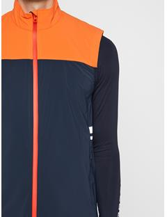 Mens Archer Lux Softshell Vest JL Navy