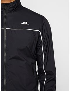 Mens Liam Piped Wind Pro Jacket Black