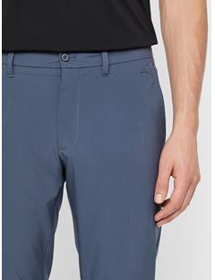 Mens Ellott Slim Micro Stretch Pants Dark Grey