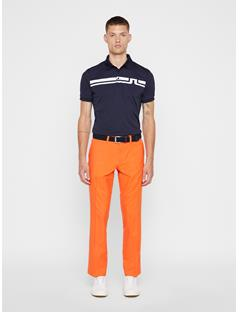 Mens Elof Reg Fit Pants Juicy Orange