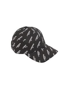 Mens Flexi Twill Printed Cap Black