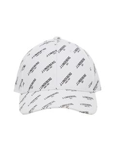 Mens Flexi Twill Printed Cap White