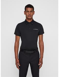 Mens Harry TX Jersey Polo Black