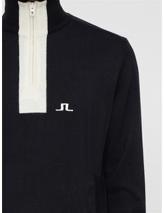 Mens Gen Wool Coolmax Sweater Black