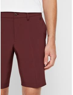 Mens Eloy Tapered Micro Stretch Shorts Dark Mocca
