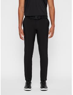 Mens Ellott Slim Fit Bonded Pants Black