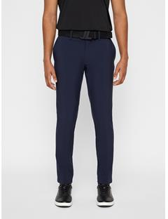 Mens Ellott Slim Fit Bonded Pants JL Navy
