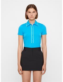 Womens Flor Ultra Light Jersey Polo Fancy