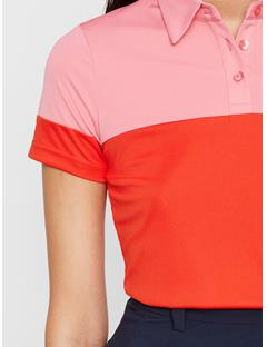 Womens Ditte TX Jersey Polo Racing Red