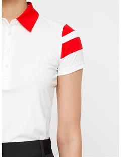 Womens Pixie TX Jersey Polo White