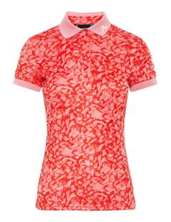 Womens Tour Tech TX Jersey Print Polo Hubba Bubba Icelayer