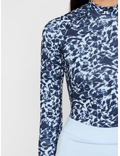 Womens Asa Compression Print Layer Baby Whisper Icelayer