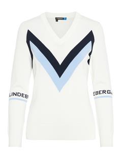 Womens Celine Sweater Cloud White