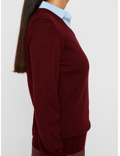 Womens Amaya Merino Sweater Dark Mocca