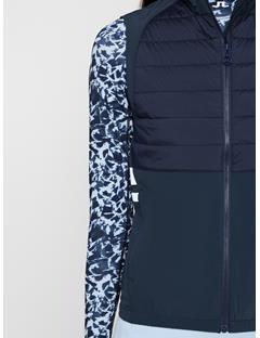 Womens Noa Lux Softshell Vest JL Navy