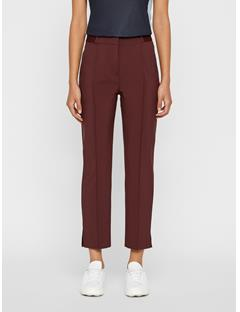Womens Gio Micro Stretch Pants Dark Mocca