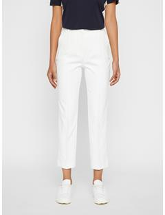 Womens Gio Micro Stretch Pants White